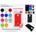 Mercury Pearl Jelly Case Samsung Galaxy Note 4 N9100