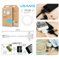 Usams 3 in 1 Data Cable - 8-Pin 30-Pin Micro USB