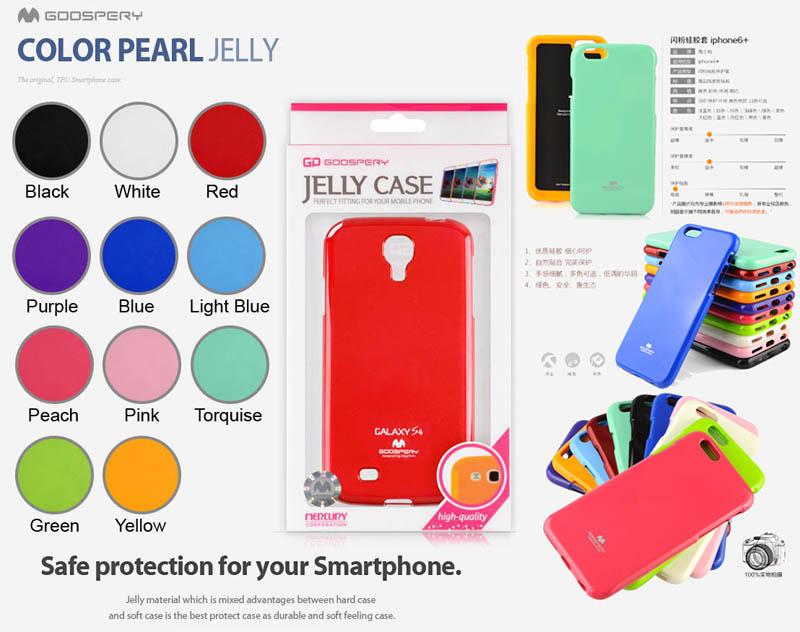 Mercury Pearl Jelly Case iPhone 6 Plus - 6S Plus