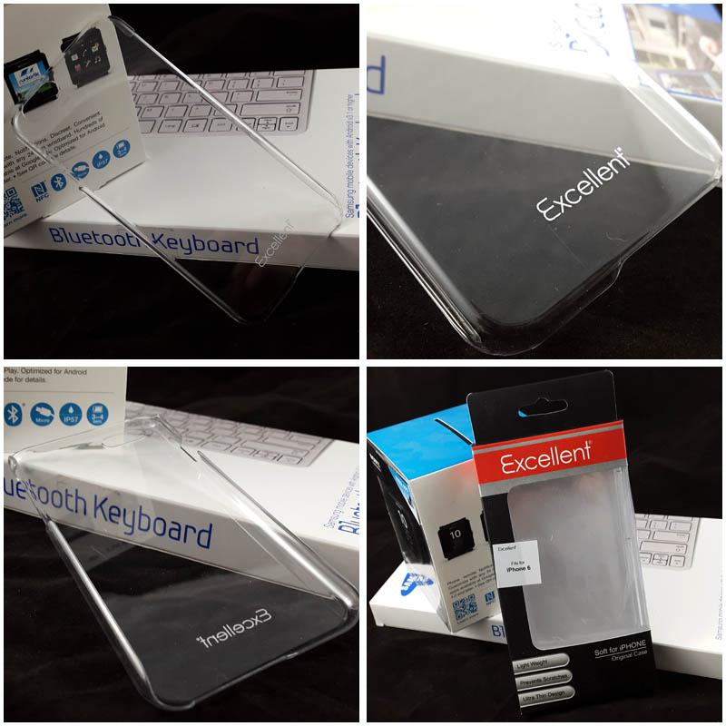 Excellent PC Clear Case iPhone 6 - 6S