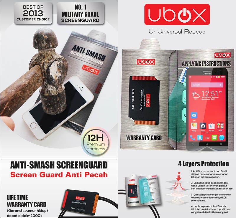 Ubox Anti-Smash 0.25mm Asus Zenfone 4S