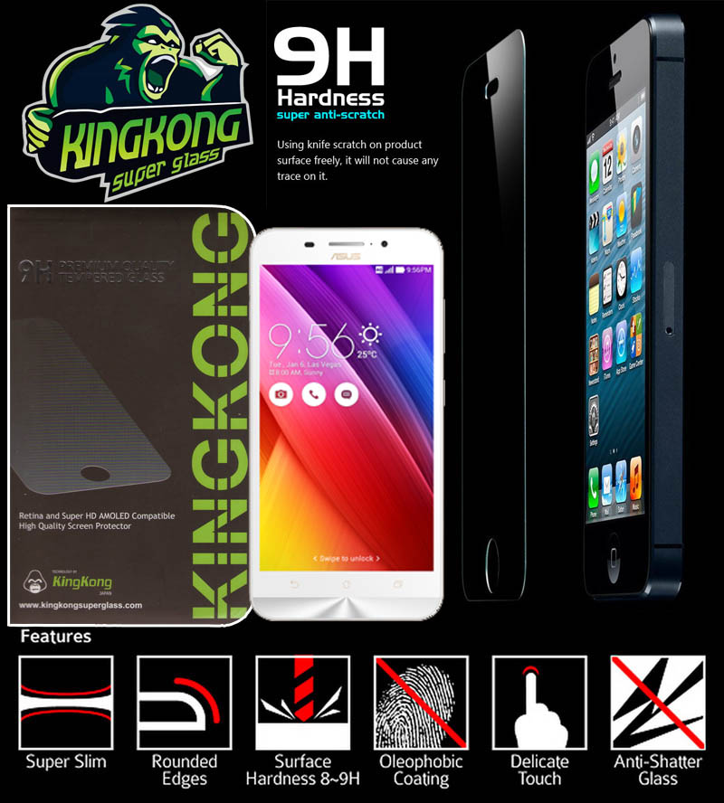 Kingkong Super Glass Asus Zenfone Max