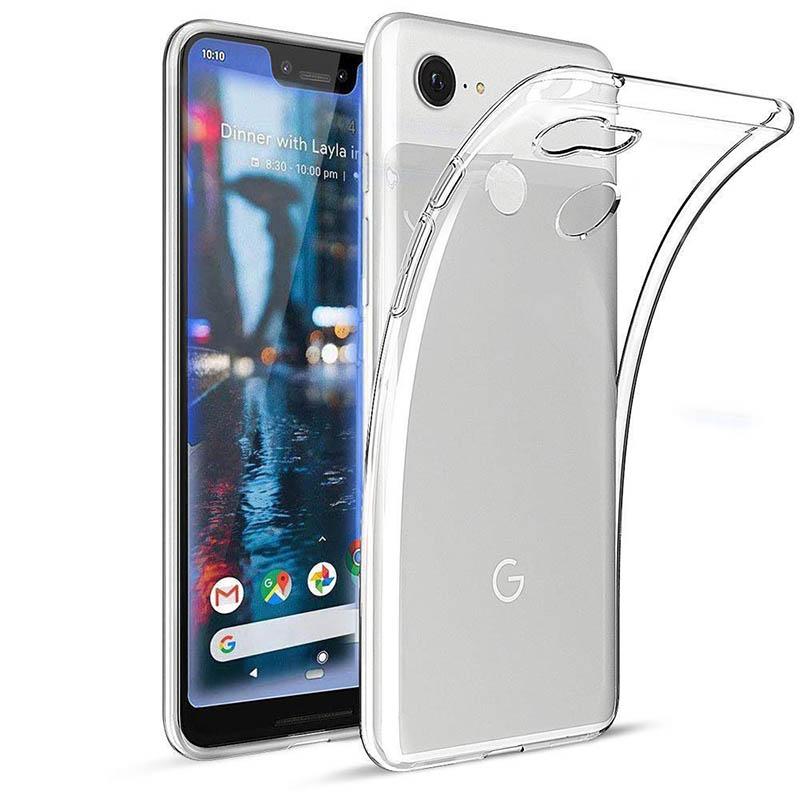 "Slim TPU Case Google Pixel 3 XL. """