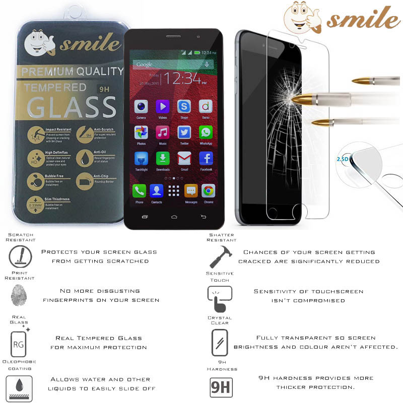 Smile HD Tempered Glass Infinix Hot Note