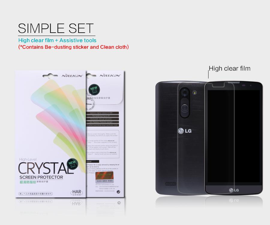 Nillkin Crystal Clear LG L Bello D335