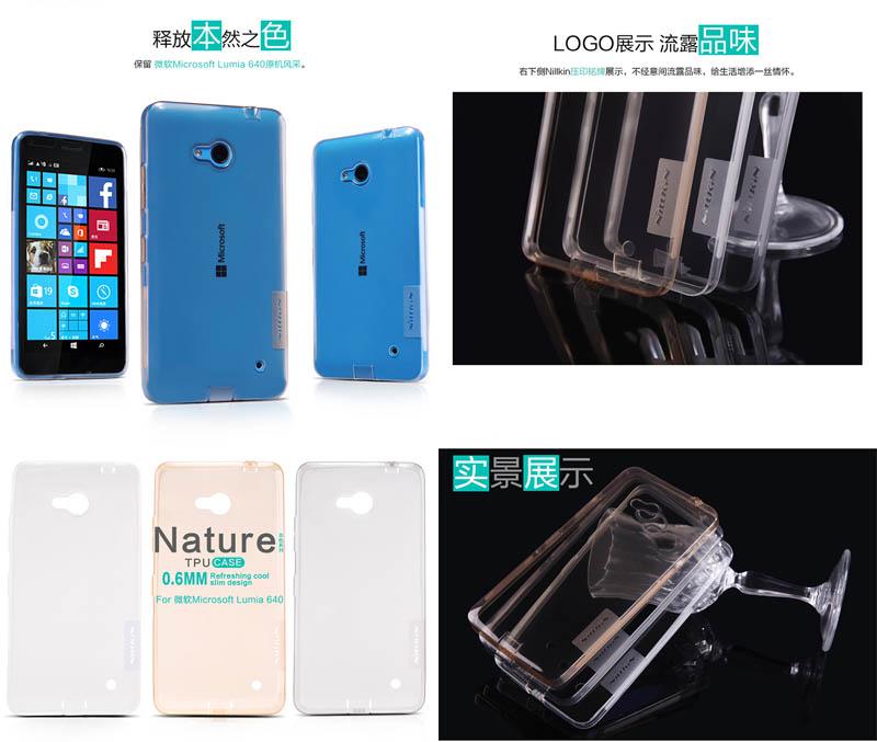 Nillkin Nature TPU Case Microsoft Lumia 640