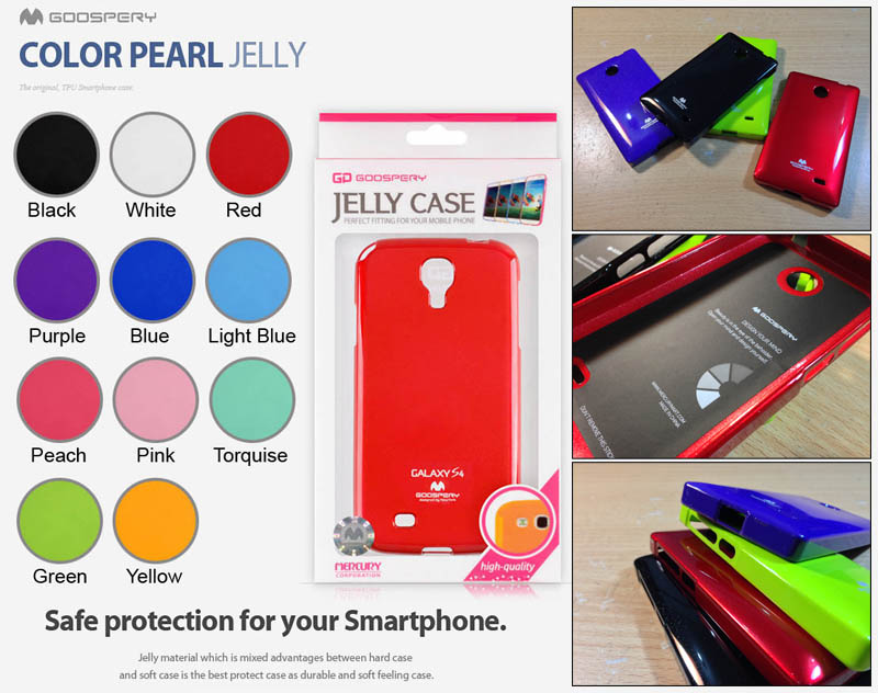 Mercury Pearl Jelly Case Nokia X - X Dual