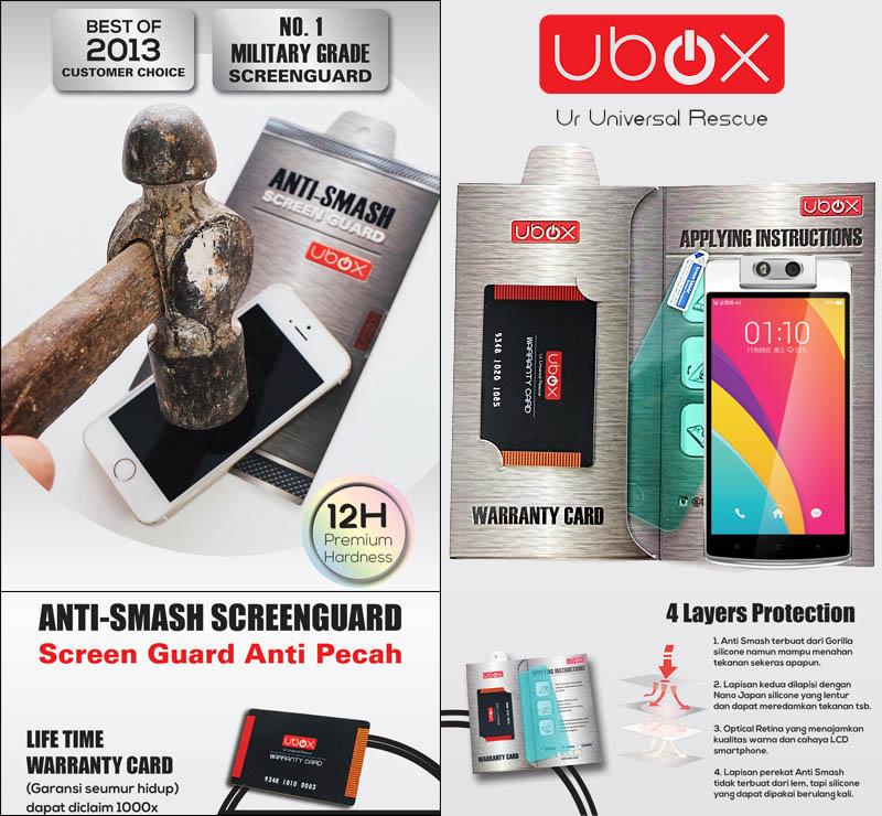 Ubox Anti-Smash 0.25mm Oppo N3