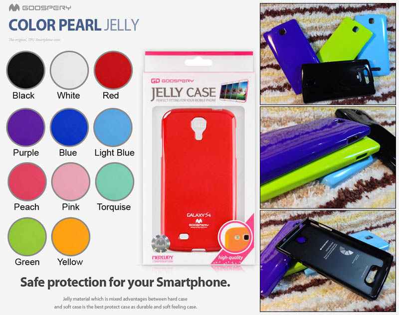 Mercury Pearl Jelly Case Oppo Neo R831T