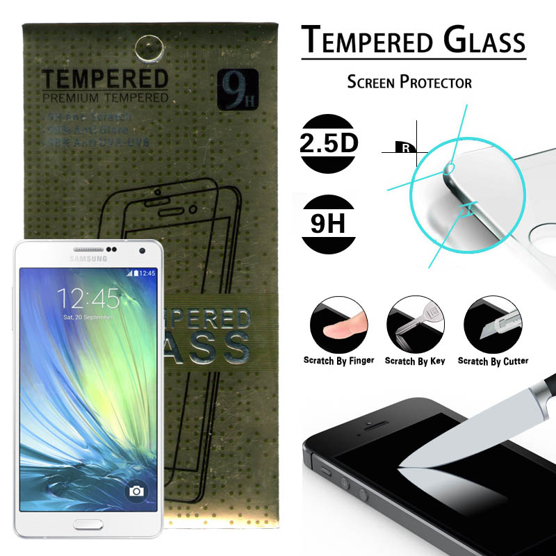 Gold Brand Tempered Glass Samsung Galaxy A8 a800
