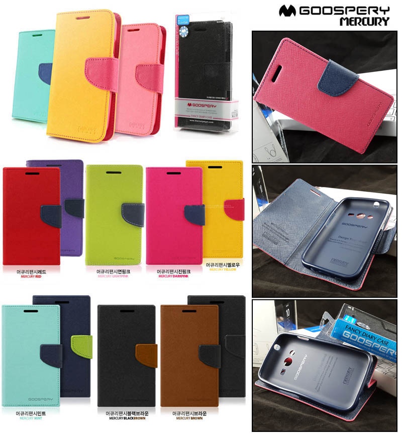 Mercury Fancy Diary Case Samsung Galaxy V - Ace 4 - Ace NXT