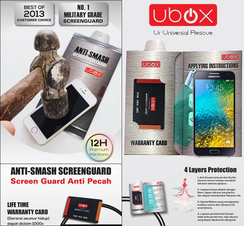 Ubox Anti-Smash 0.25mm Samsung Galaxy E5 e500