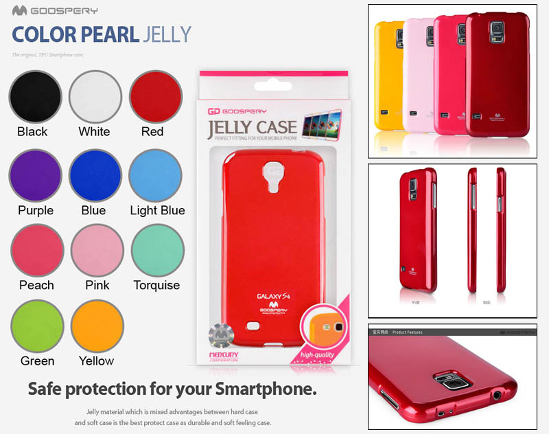Mercury Pearl Jelly Case Samsung Galaxy S5 i9600