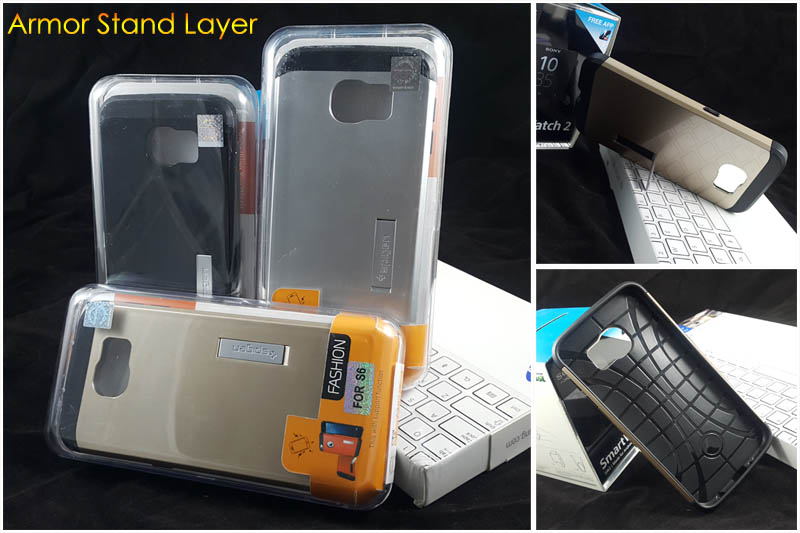 Armor Case Stand Layer Samsung Galaxy S6 G920