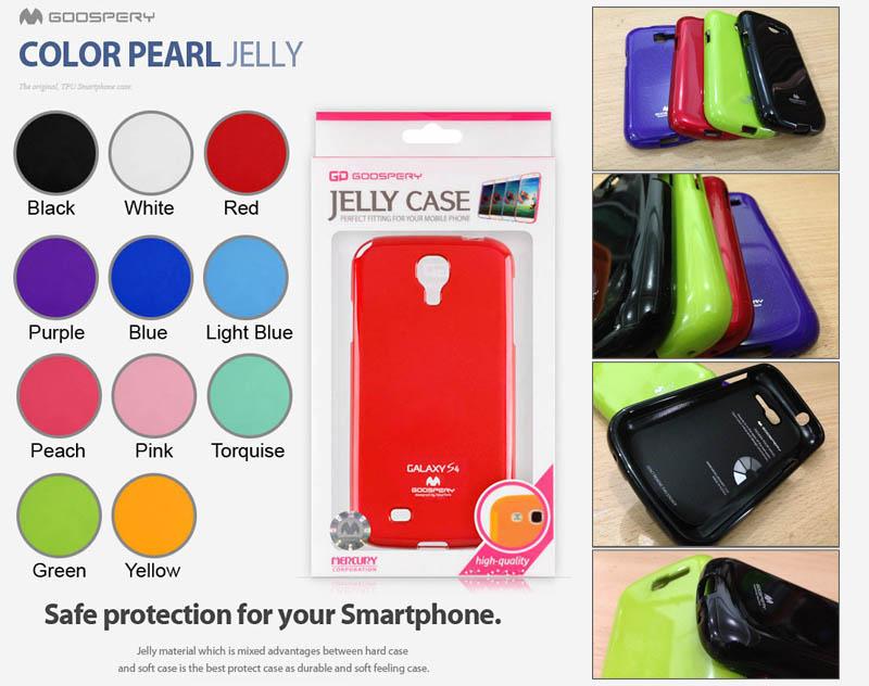 Mercury Pearl Jelly Case Samsung Galaxy Trend - Trend Duos