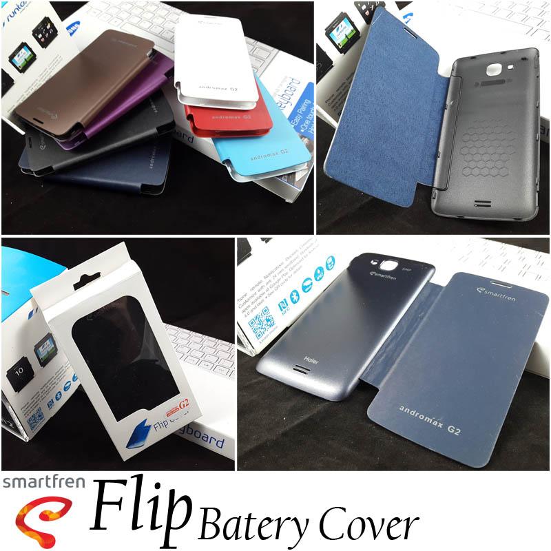 Flip Cover Case Smartfren Andromax-G2