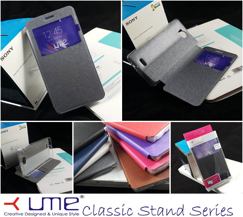Ume Classic View Case Smartfren Andromax-Qi