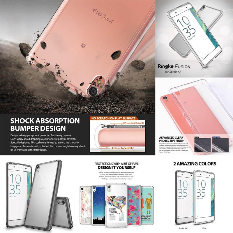 Ringke Fusion Case Sony Xperia XA - XA Dual