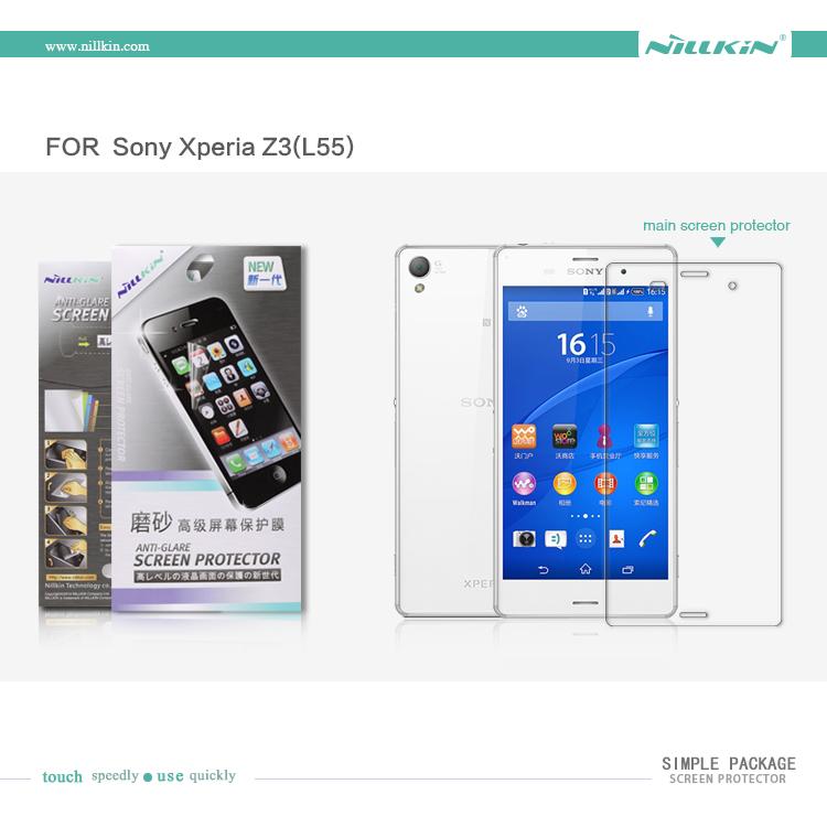 Nillkin Anti-Glare Sony Xperia Z3 - Z3 Dual