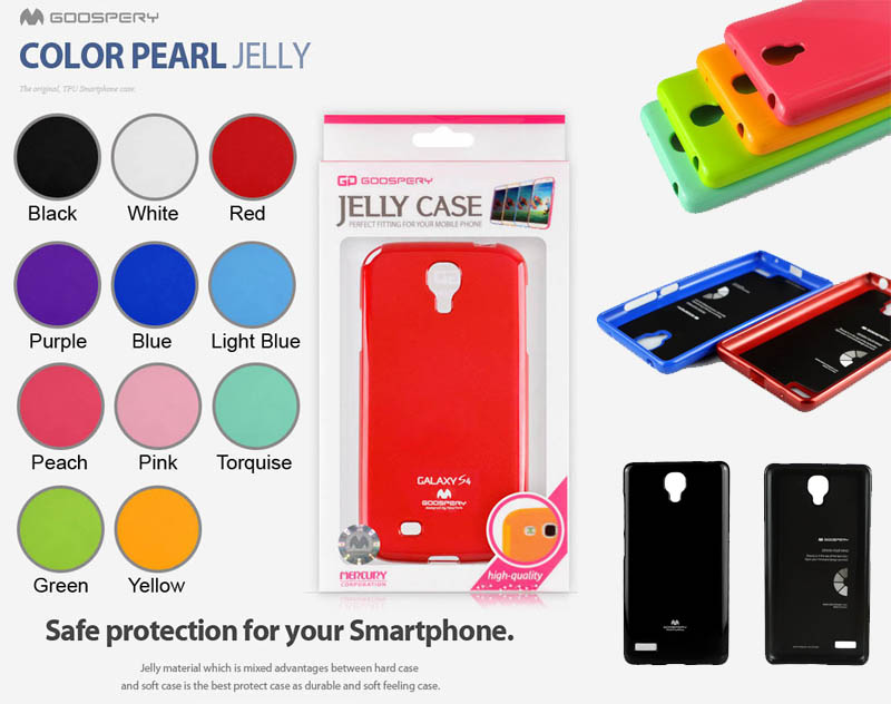 Mercury Pearl Jelly Case Xiaomi RedMi Note