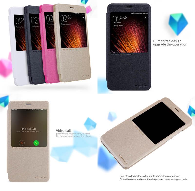 Nillkin Sparkle Leather Case Xiaomi RedMi Pro